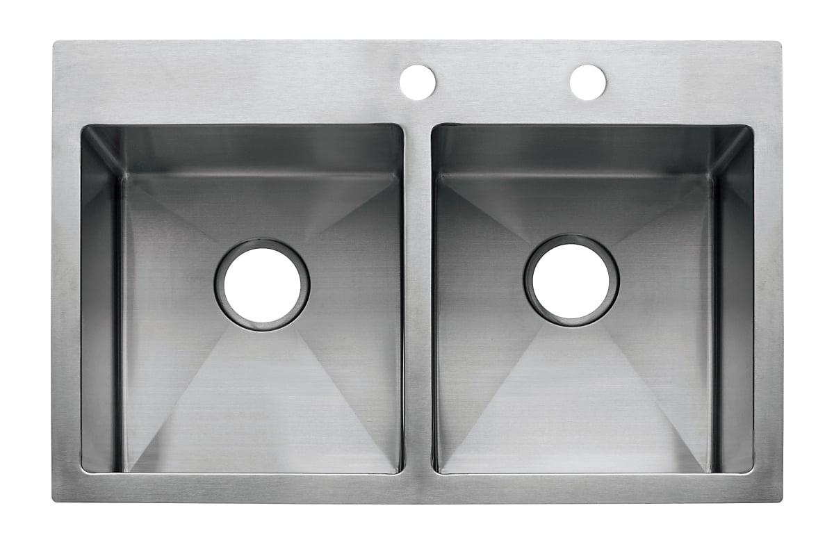 Franke Hf3322 2 Double Bowl Sink Top Mount Kitchen Sink Sink