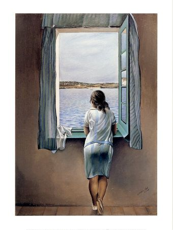 Dali Painted His Sister Marie Looking Out The Window On A Spanish Sea Landscape Favorite Thematic Venue