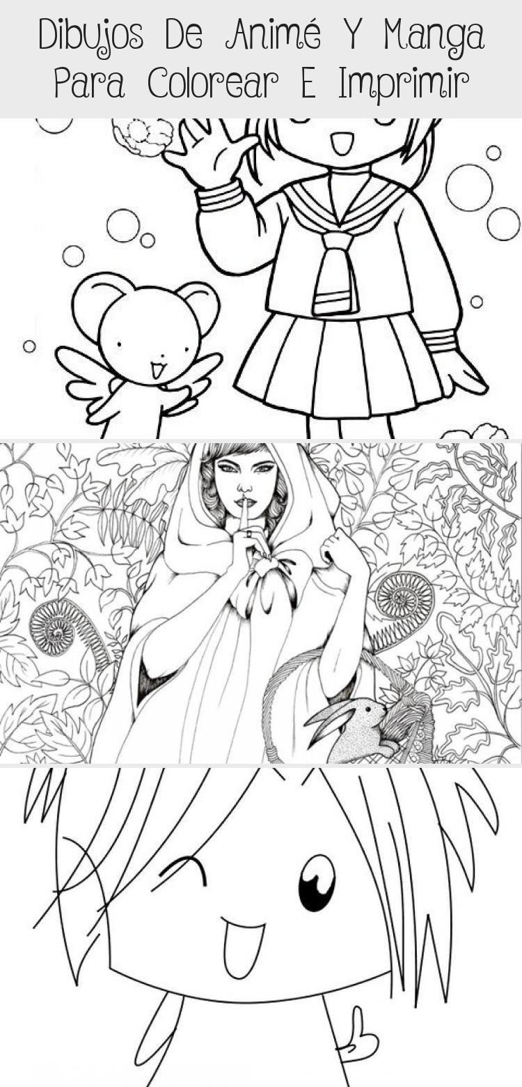 Dibujos De Anime Para Imprimir