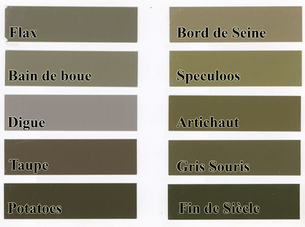 Nuancier Flamant | Palettes | Pinterest