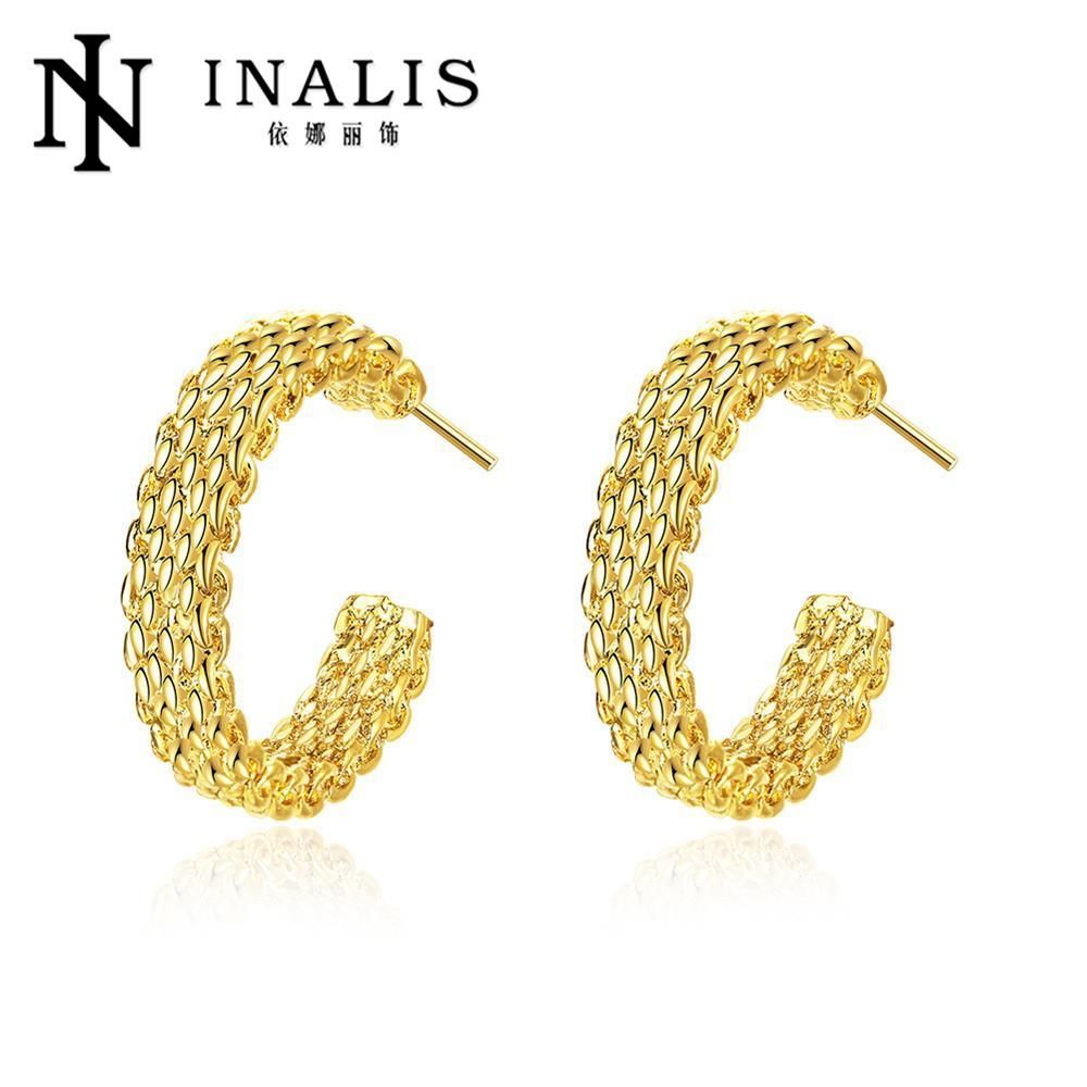 Vind meer stud oorbellen informatie over Nieuwe collectie merk trendy elegant charm gold romantische Oostenrijk…