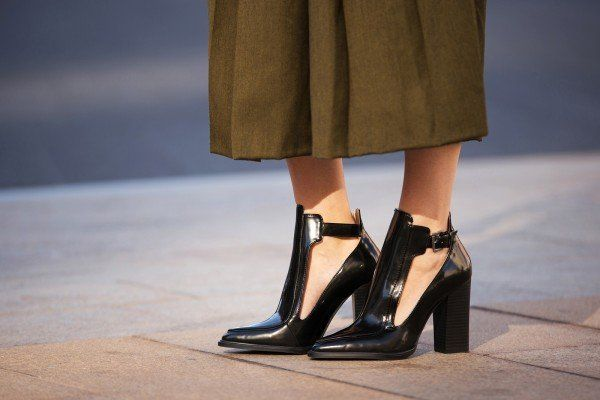 The Best #Shoes of New York Fashion Week #streetstyle