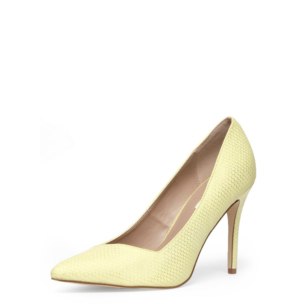 8426096550c Dorothy Perkins Wide fit lemon high courts- at Debenhams.com | Wish ...