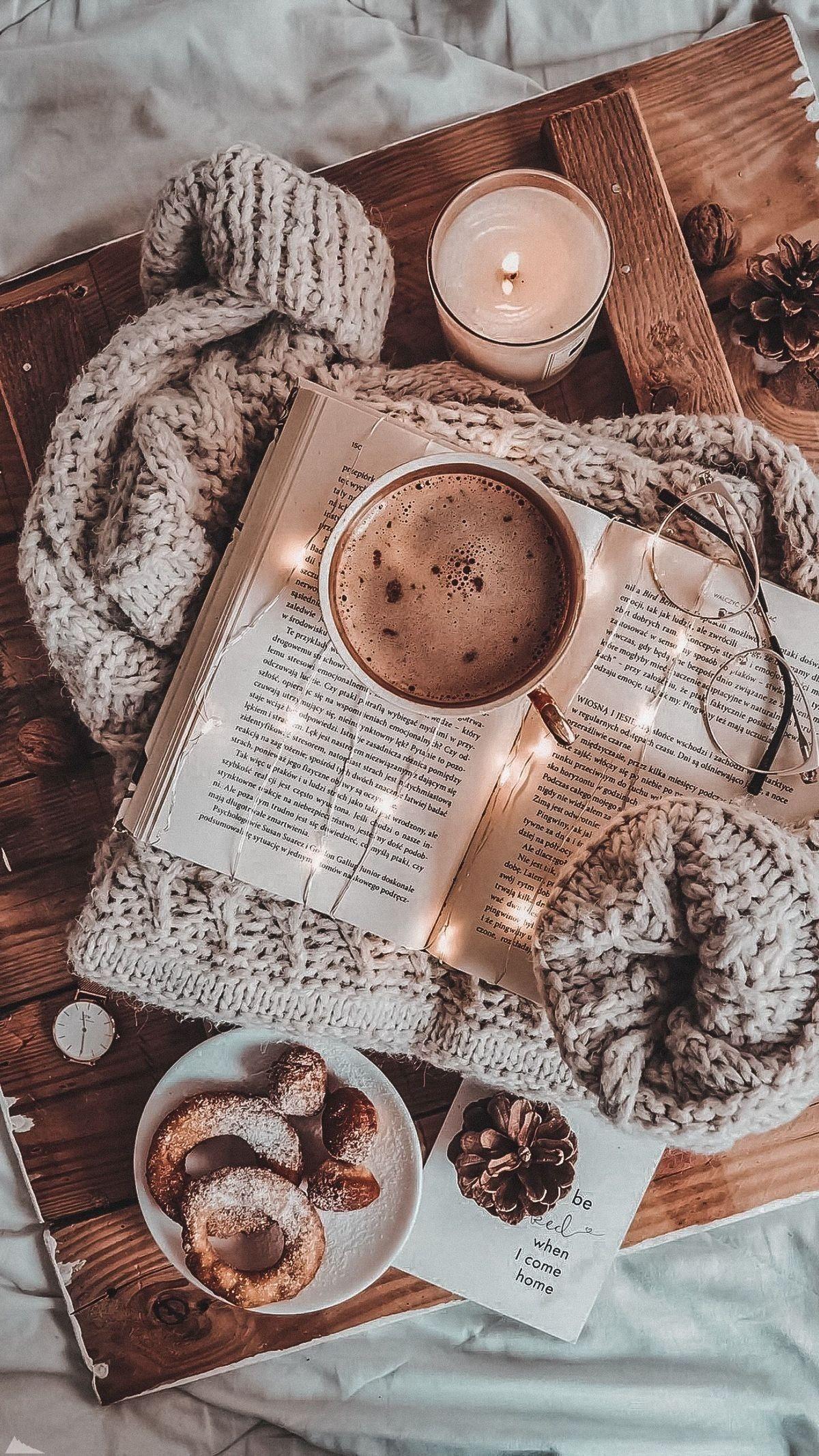 Pin by Coffee قهوة on ☄ تصاميم Cozy aesthetic, Autumn