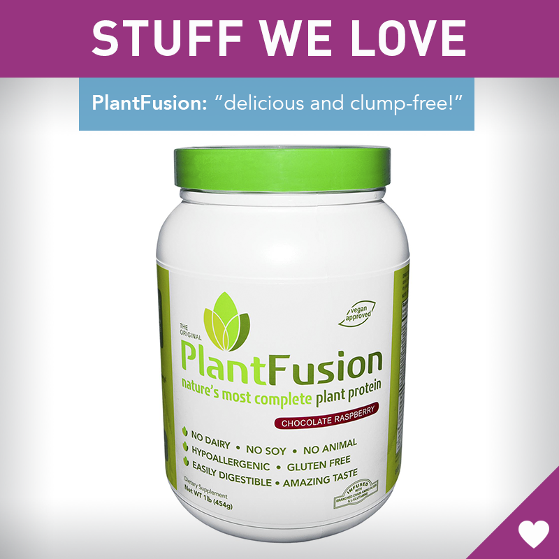 Finally, a Protein Powder That Tastes Delicious (and Doesn't Get Chalky) #protein #healthy http://greatist.com/discover/plantfusion