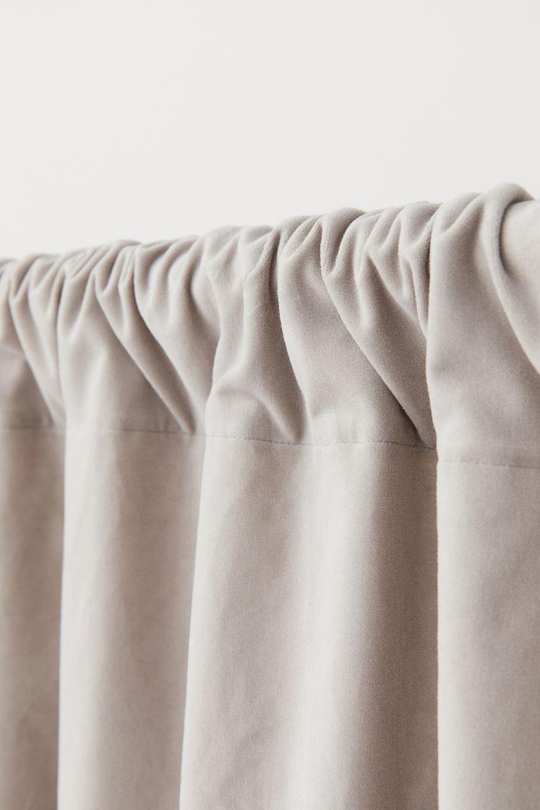 2 Pack Velvet Curtain Lengths In 2020 Velvet Curtains Curtains