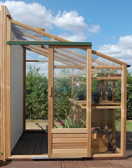 Growhouse Lean-to Greenhouse