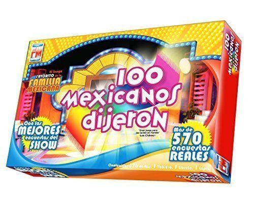 100 Mexicanos Dijeron Board Game Spanish Edition Boardgame