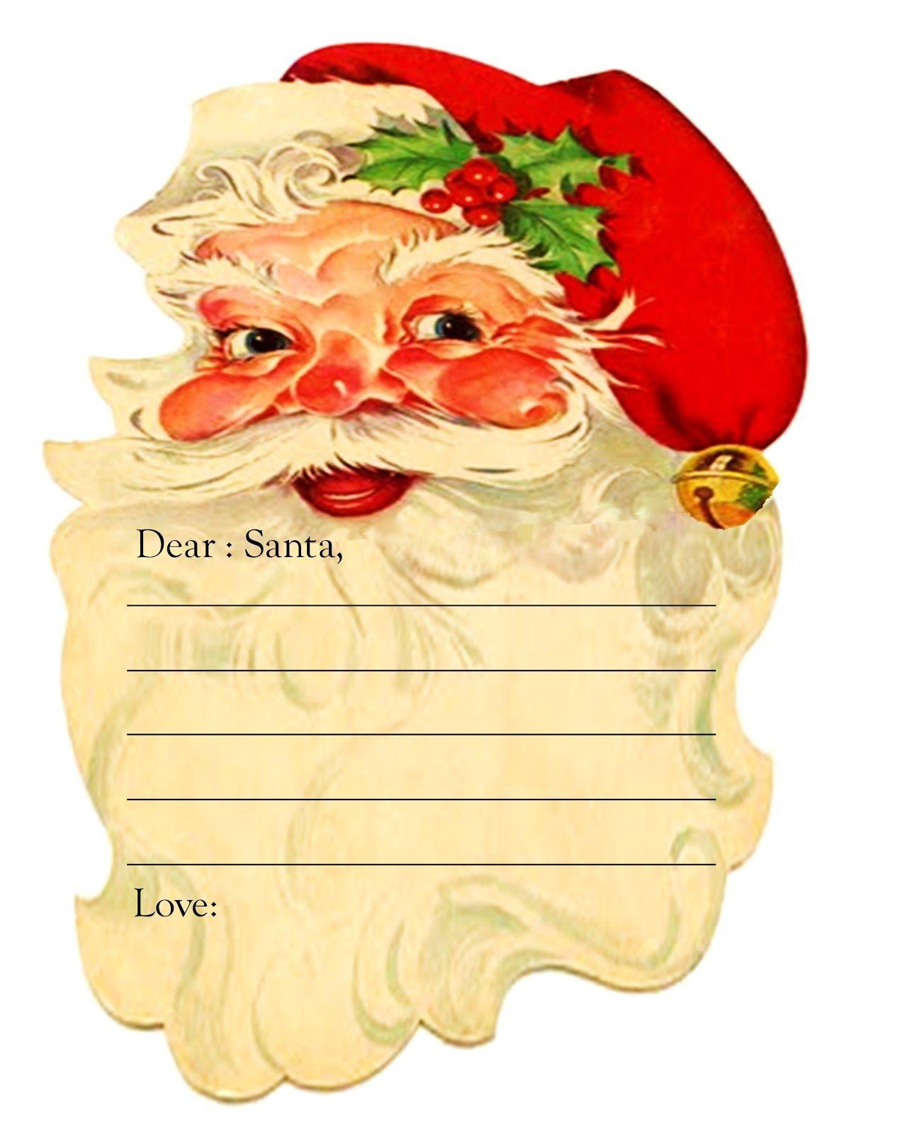 Free Christmas Printable (Dear Santa)