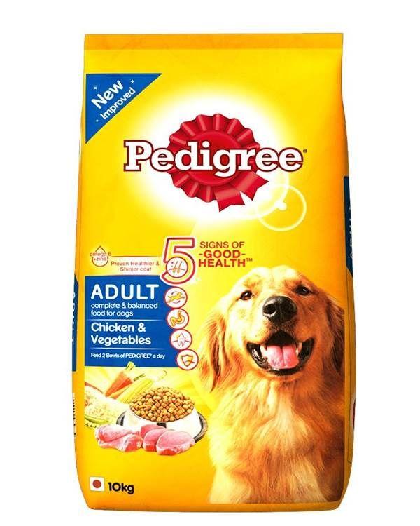 Pedigree Adult Dog Food Chicken Vegetables 10kg Dog Food Recipes Pedigree Dog Food Dog Food Online