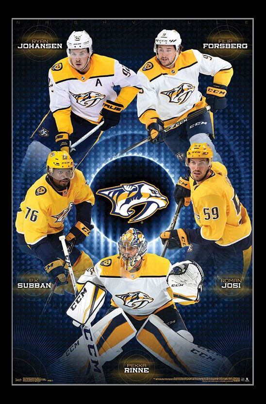 Nashville Predators_ - Team Poster Print - Item # VARTIARP16313 - Posterazzi