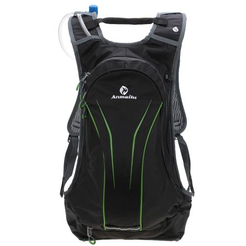 20L Water-resistant Breathable Cycling Bicycle Bike Shoulder Backpack Outdoor Sports Riding Travel Mountaineering Unisex Backpack with Rain Cover Water Bag