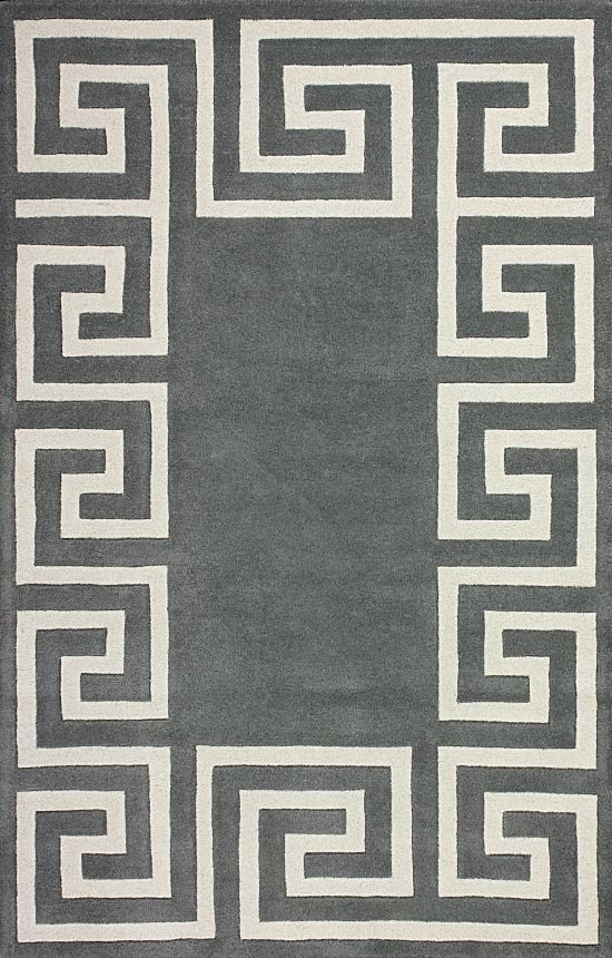 Rugs Usa Satara Greek Key Grey Rug Autumn 70 Off