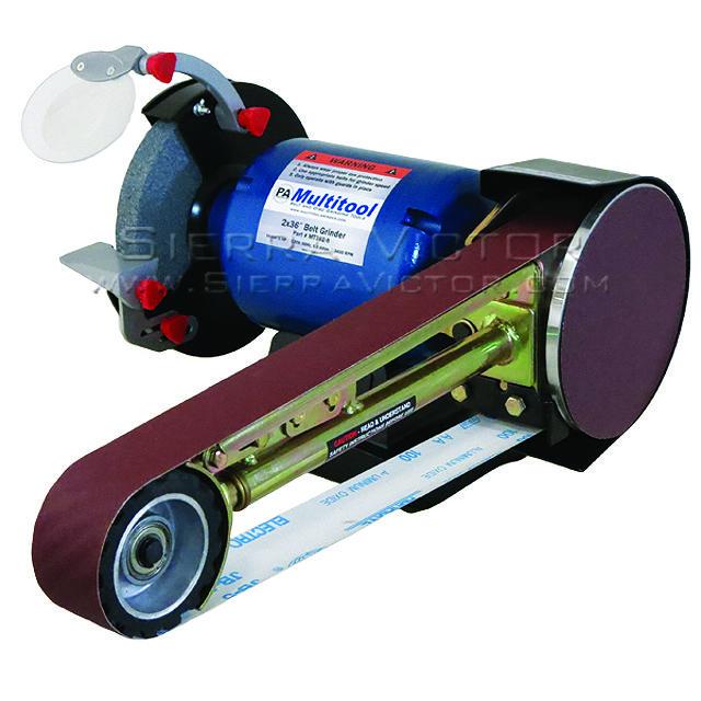 Sierra Victor Industries Belt Grinder Multitool Homemade Tools