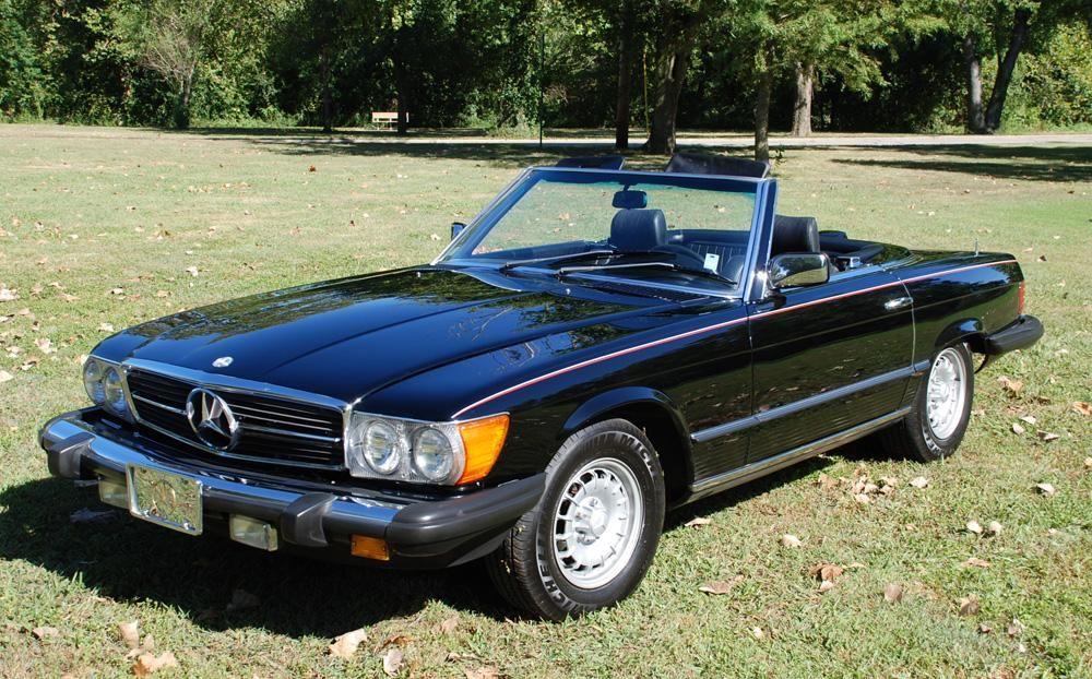 1984 Mercedes Benz 380sl Convertible Barrett Jackson Auction Company Mercedes Benz Mercedes Benz