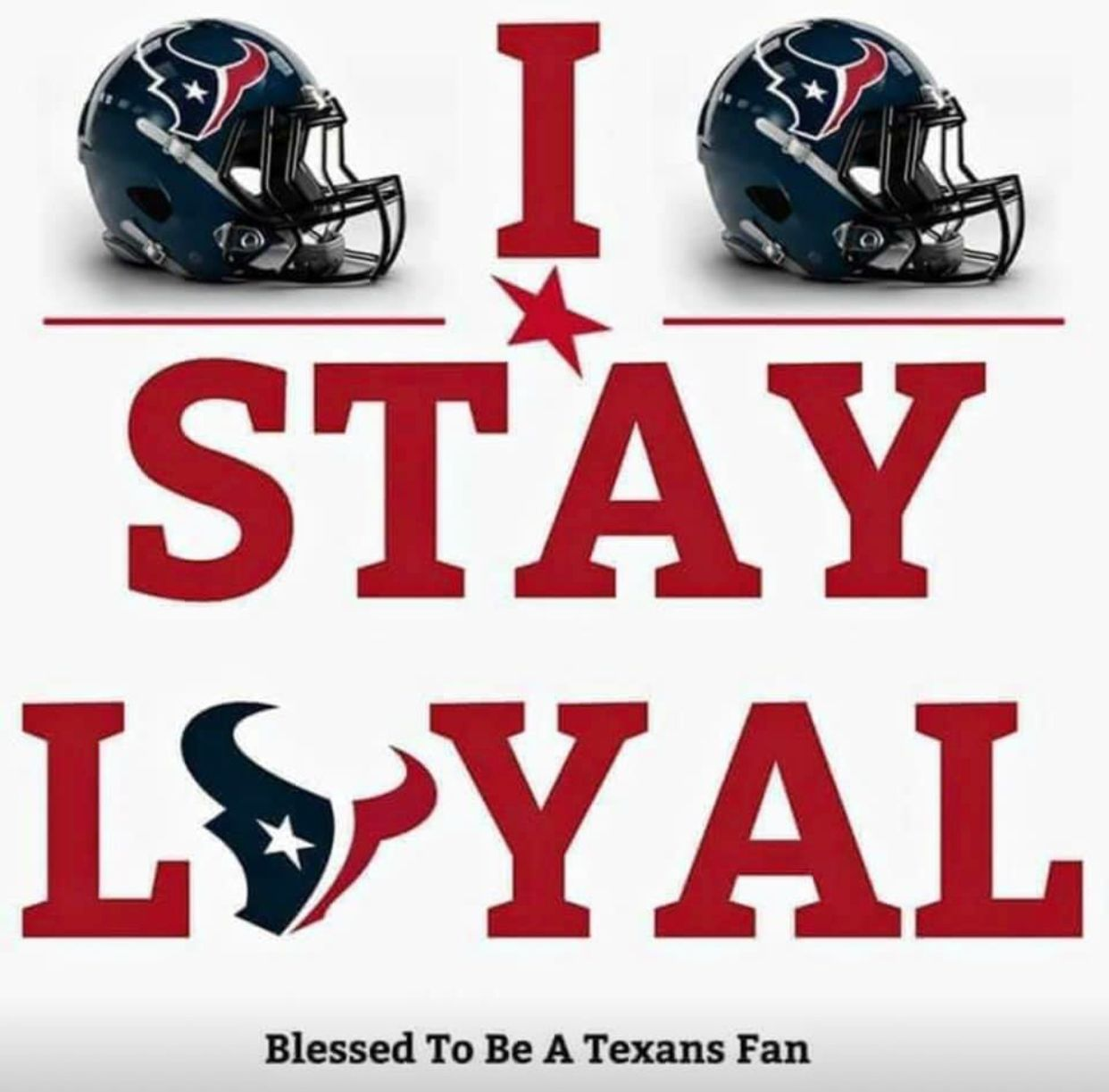 Still proud of my Texans!! We still good!! One game at a