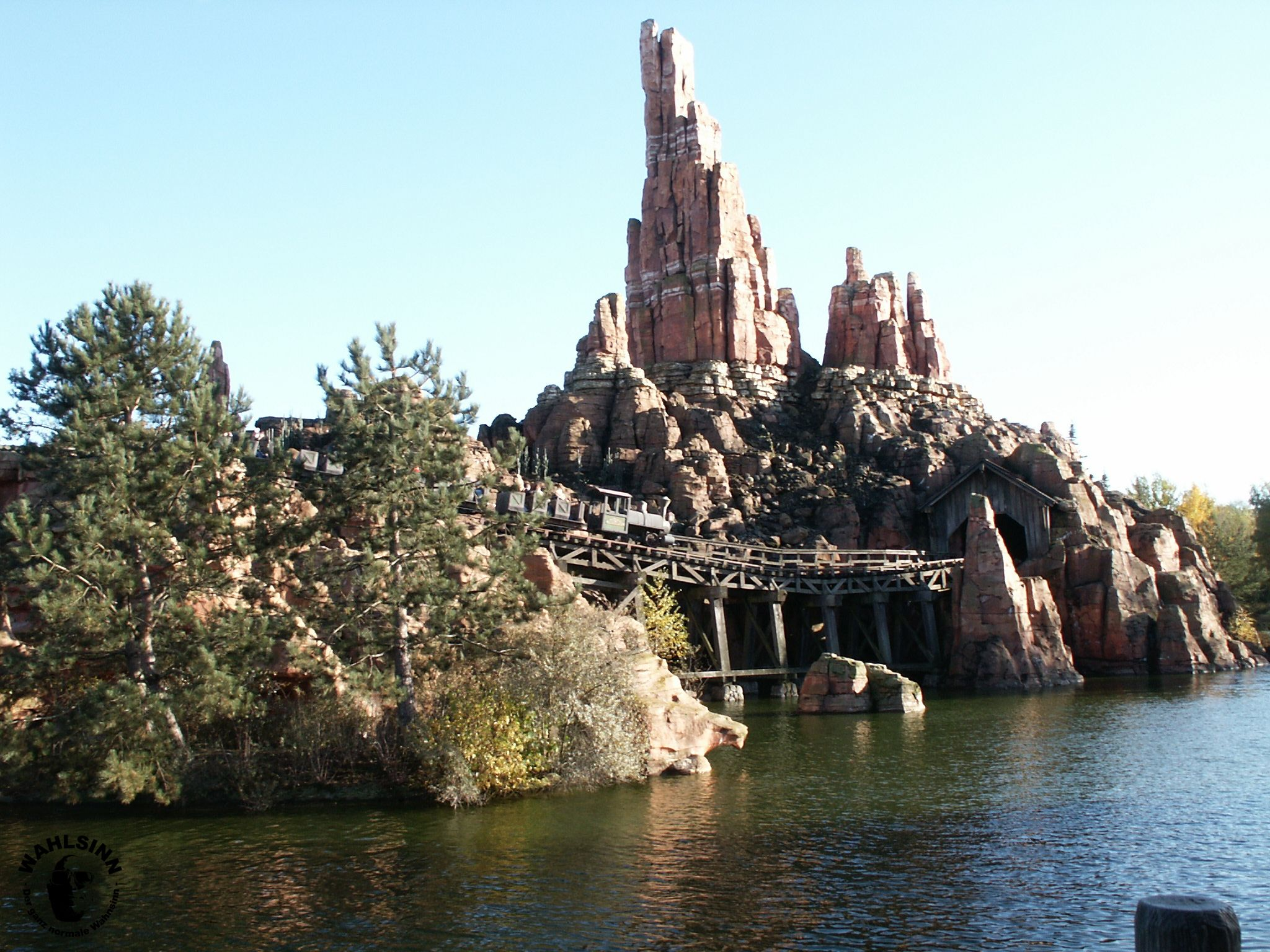 Disneyland Paris - Big Thunder Mountain Achterbahn