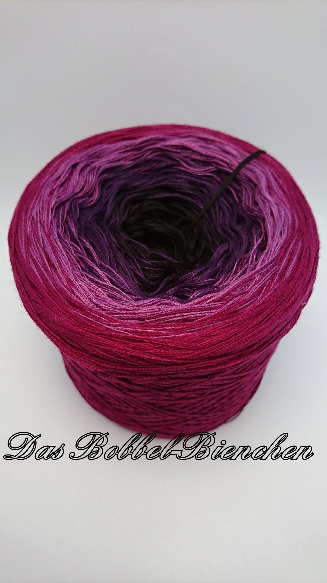 Dive Into Purple Farbverlaufsgarn Wolle Häkeln Stricke