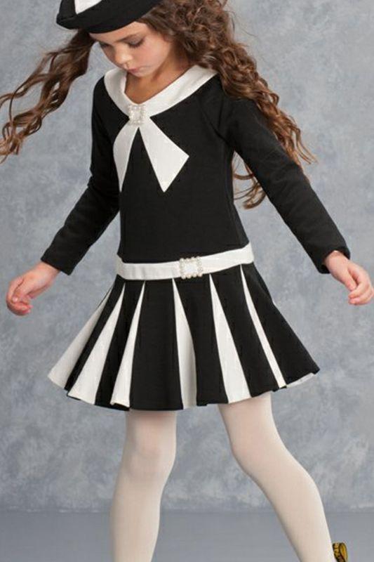 Little girls black and white dresses asian hardcore