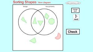 2d shape venn diagram worksheet ks1 electrical work wiring diagram maths games for elementary designed by a teacher for teachers rh pinterest com classifying numbers venn diagram create venn diagram ccuart Choice Image