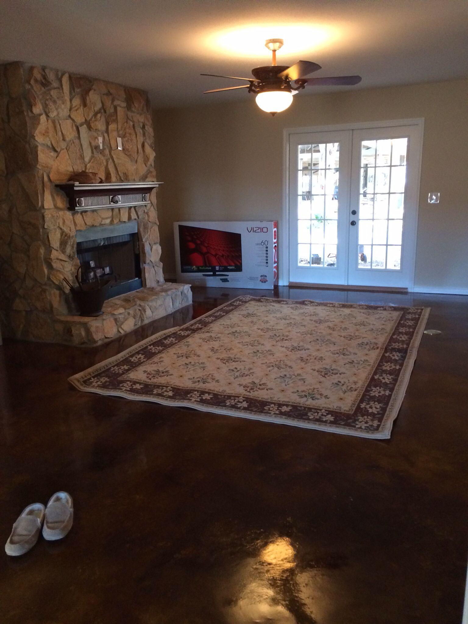 rugs go in
