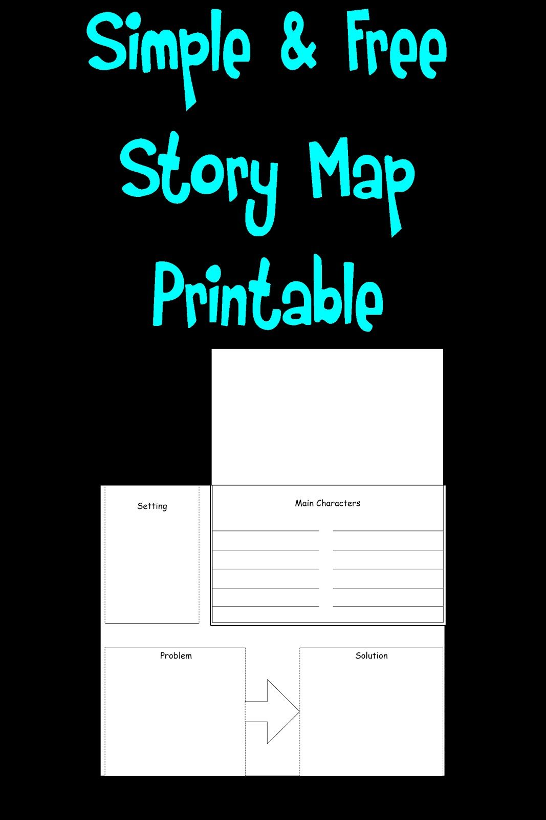 Simple 2 Story House Design: Free Simple Story Map Printable!