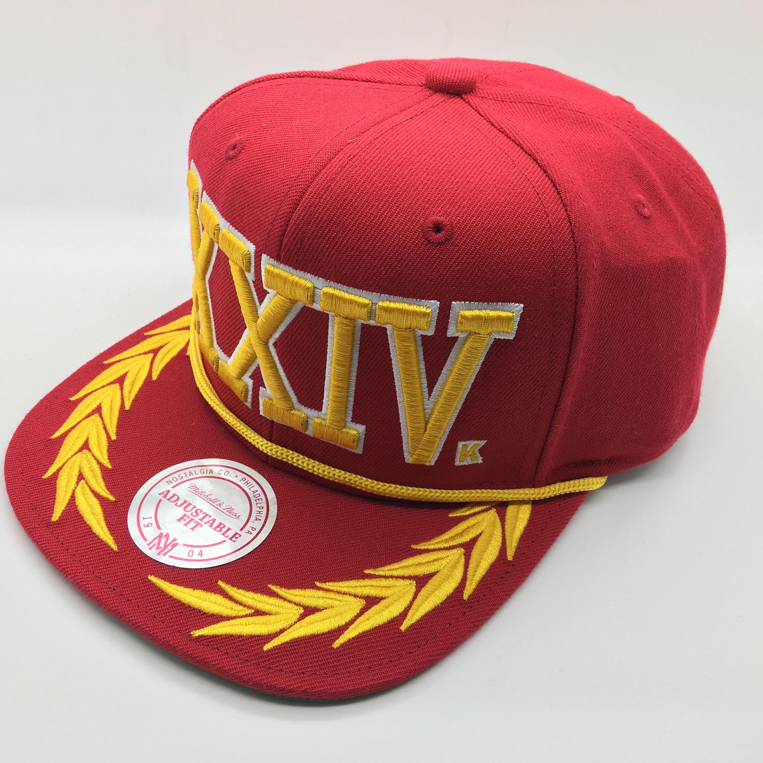 789122af3d3 RARE Bruno Mars Exclusive 24K XXIV Magic Tour Mitchell   Ness Red Snapback  Hat by MadFresh on Etsy