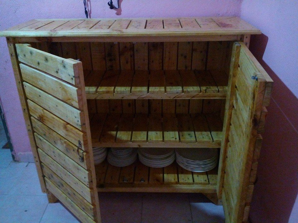 Resultado de imagem para plan kitchen wall unit built from pallets ...