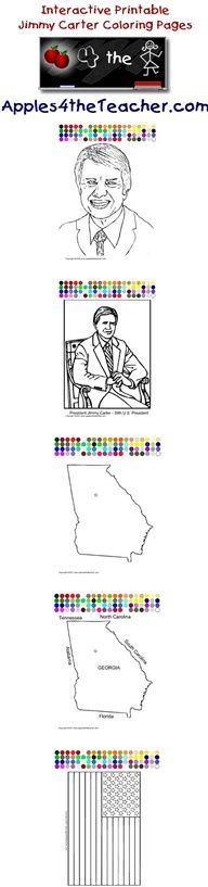 Printable Interactive U S President Coloring Pages U S Presidents