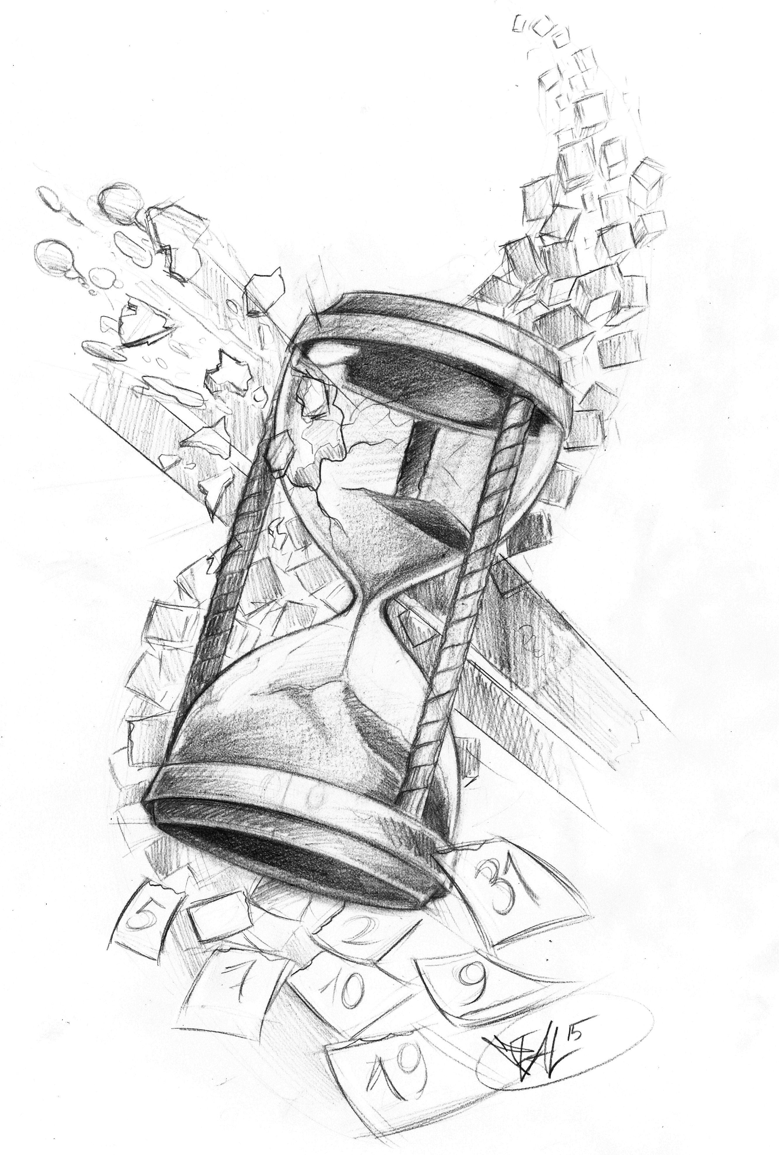 broken hourglass tattoo pinterest zeichnen. Black Bedroom Furniture Sets. Home Design Ideas