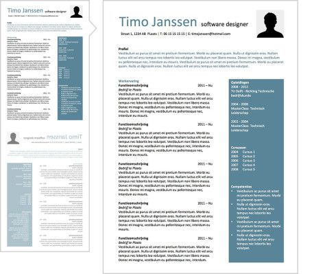 CV Ben CV Pinterest - software designer resume