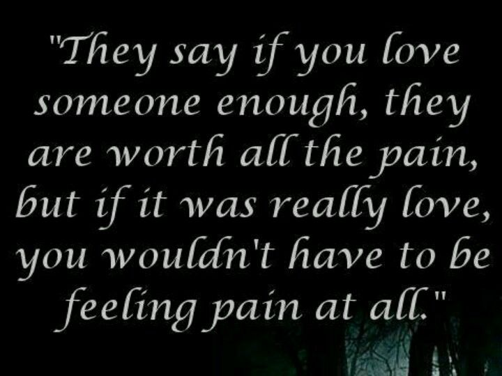 Dont Hurt The Ones You Love True Story Quotes Relationship