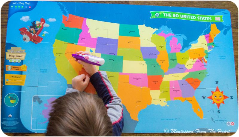 Interactive United States Map Puzzles Puzzles Map Puzzle