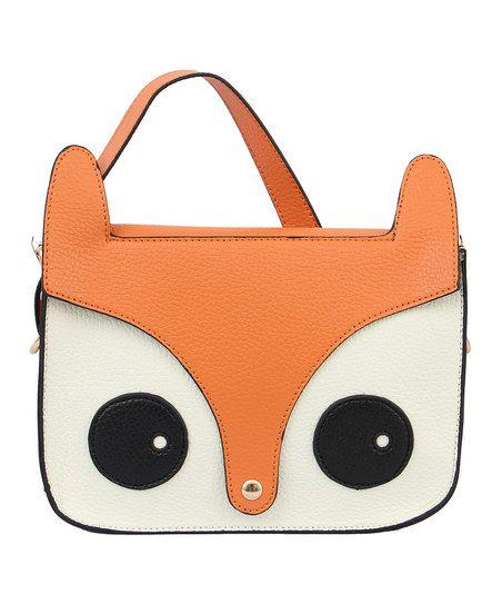 Orange Critter Crossbody Bag