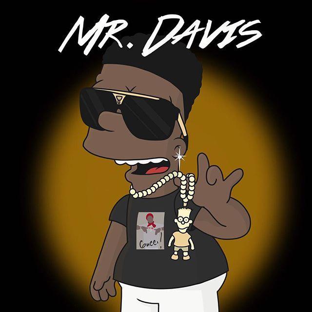 MR. DAVIS - Gucci mane @laflare1017 #guccimane#MrDavis# ...
