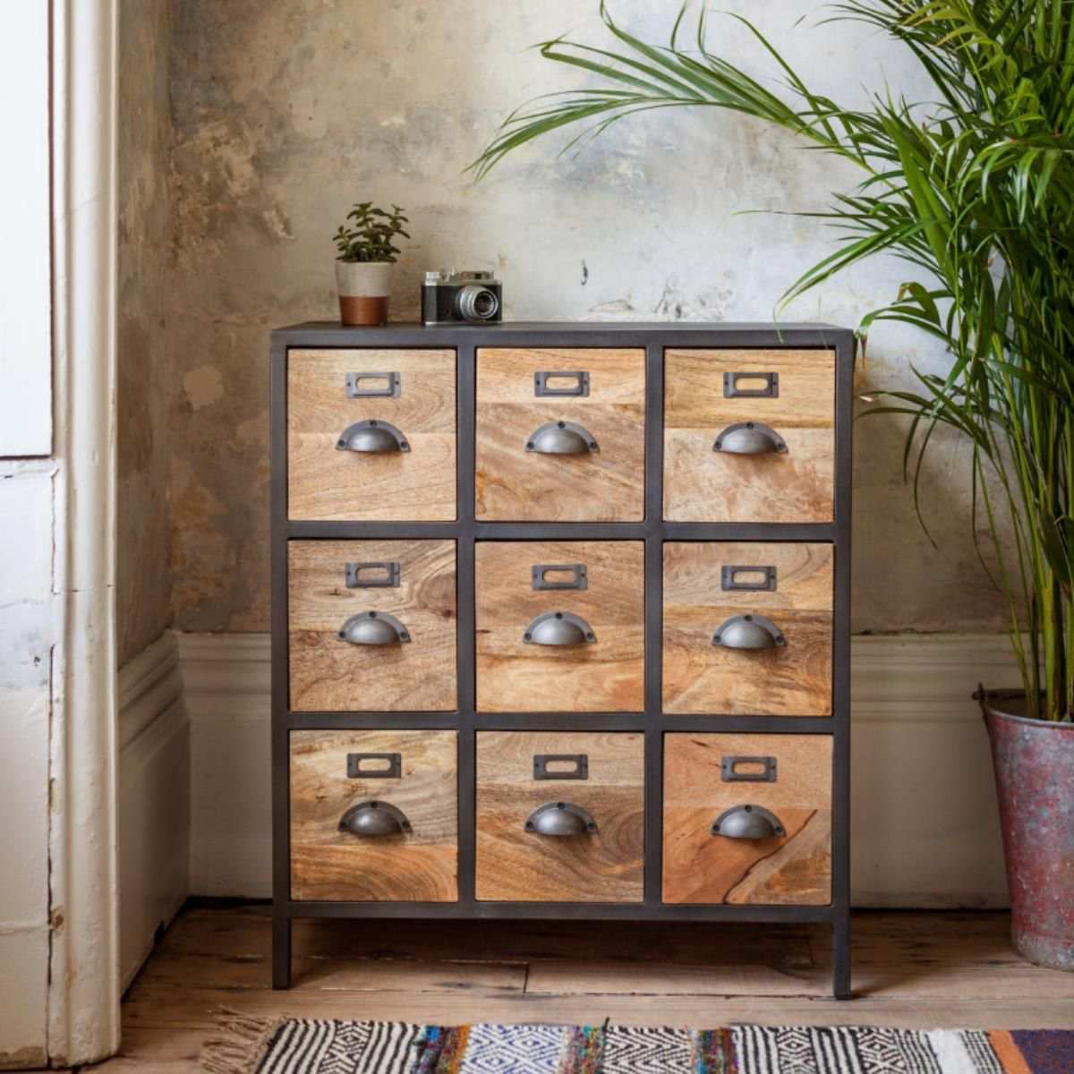 Melike Metal Apothecary Chest In 2019 Finishing Touches
