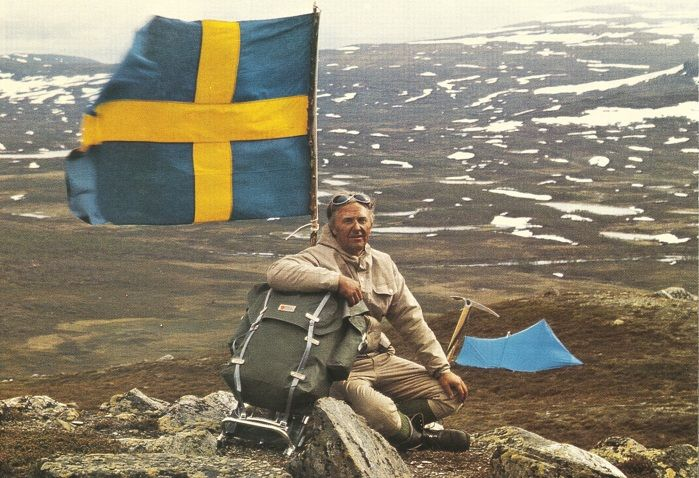 Fjällrävenin historia - www.partioaitta.fi - www.fjällräven.fi - Åke Nordin b8829aee62ca