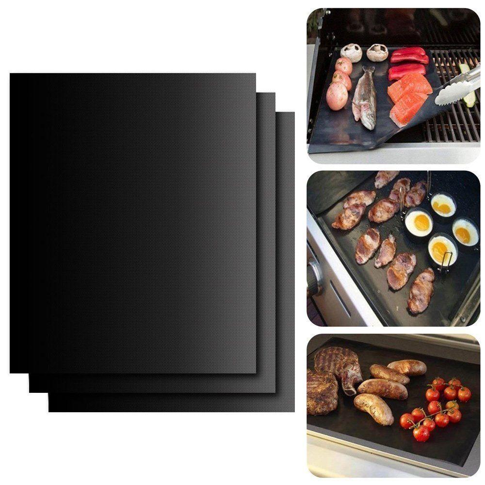 Amazon Com Yakura Grill Mat Non Stick For Barbecue Grilling