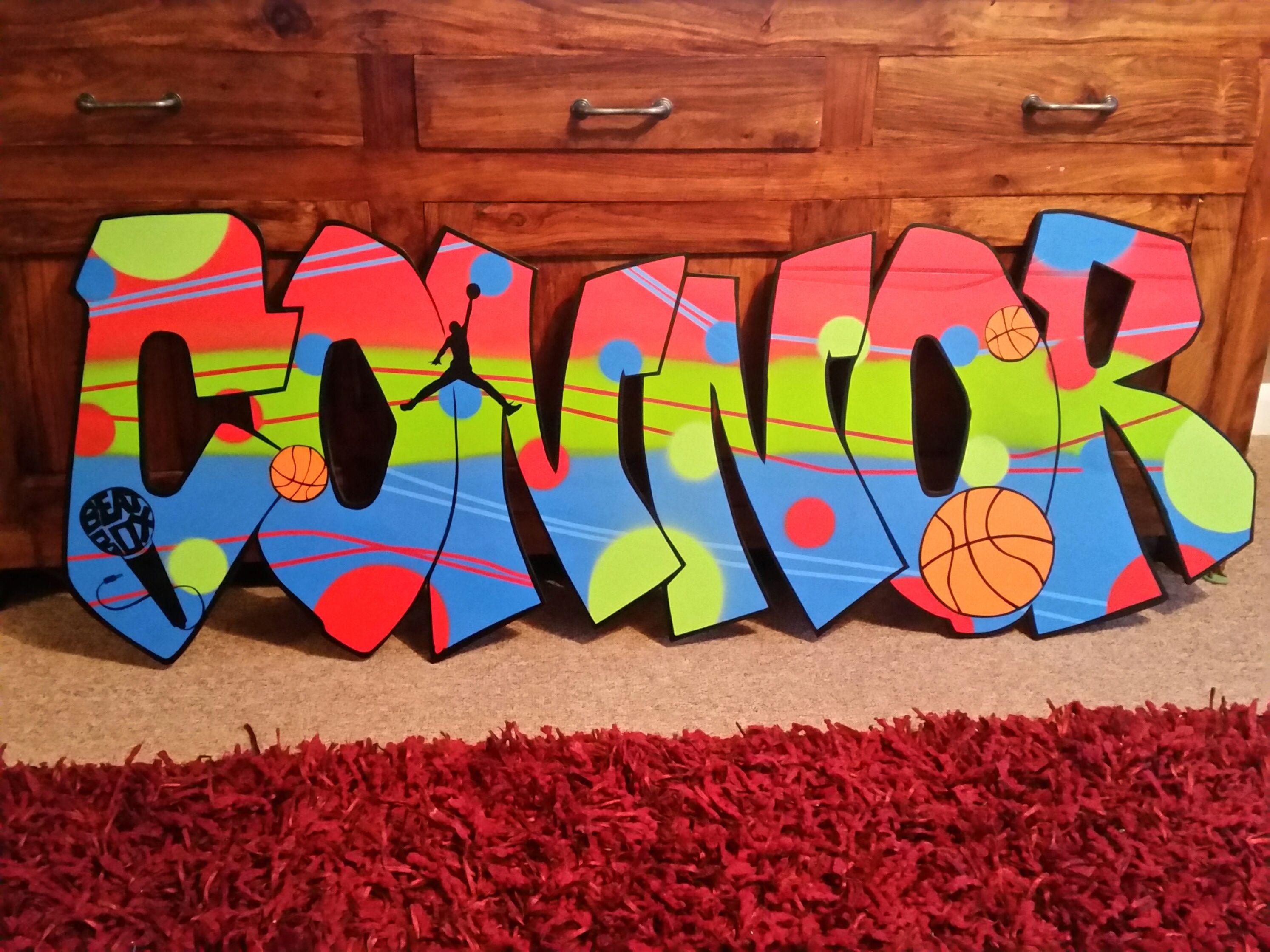 Connor graffiti name | Graffiti lettering, Doodle art drawing ...