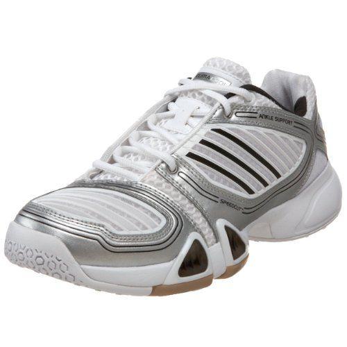 Adidas  mujer 's 6 3 cc 1 cc 3 Team Volleyball zapatos , Universidad ROJO / Metallic e67241
