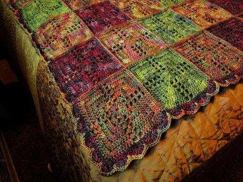 Crochet Afghan by mjmay62 on Flickr.