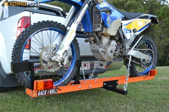 Rack N Roll Motorcycle Carrier 100 Australian Made Motorcycle Tow