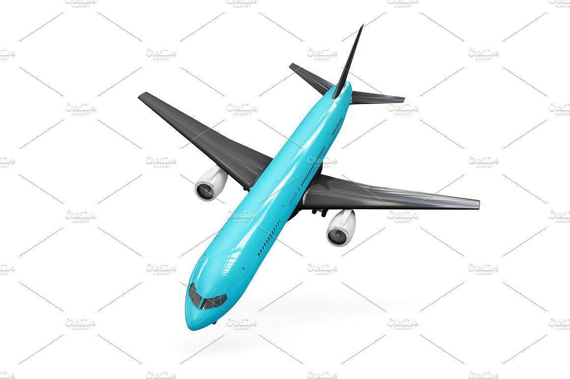 Airplane Mockup Mockup Personal Presentation Artwork Images