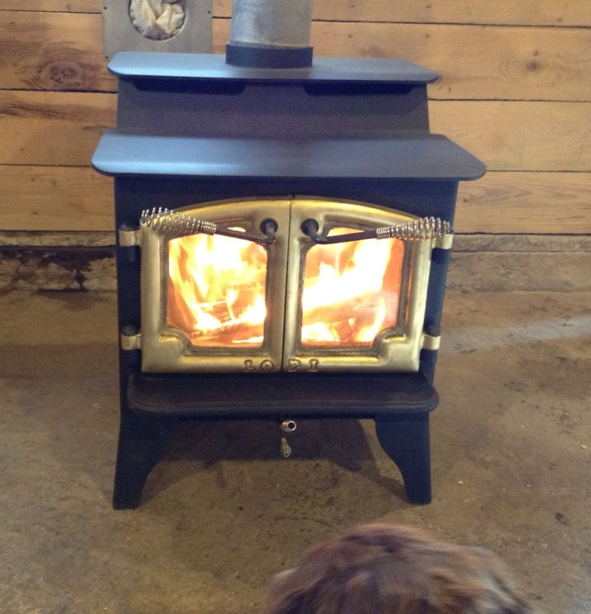 Lopi Wood Stove Fireplace Model 380 Fisher Style New