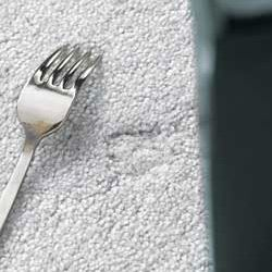 How To Get Rid Of Carpet Dents Made By Furniture It Really Works Carpet Dent Household Cleaning Tips Cleaning Hacks