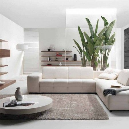 Fascinating Low Round Table and White Tufted Sofa Chaise inside