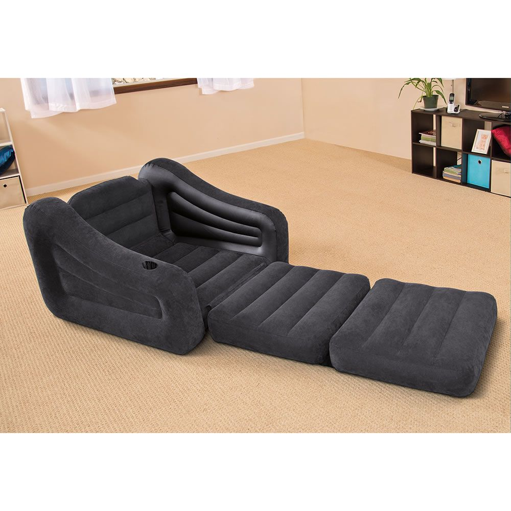 The Inflatable Chair Or Bed Hammacher Schlemmer Twin Bed Mattress Inflatable Bed Inflatable Sofa