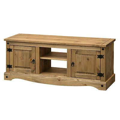 Flat Screen TV Television Unit Shelf Table 2 Two Door Storage Wood Wooden Corona - http://www.computerlaptoprepairsyork.co.uk/tvs-and-accessories/flat-screen-tv-television-unit-shelf-table-2-two-door-storage-wood-wooden-corona