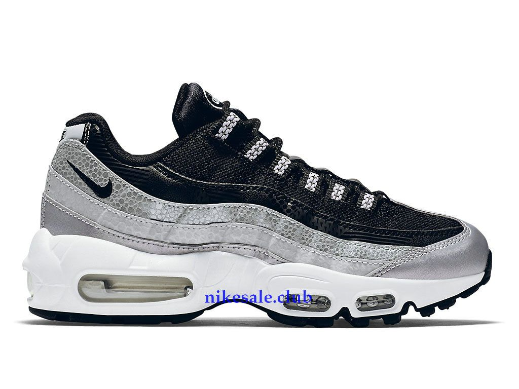 Chaussures Nike Air Max 95 OG Prix BasketBall Pas Cher Pour Femme BlancPourpreGris
