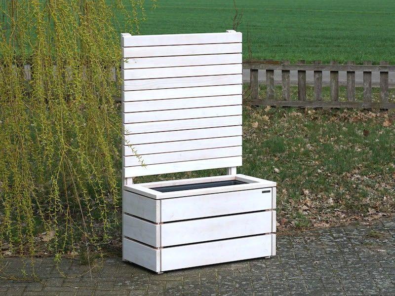 Sichtschutz Ohne Befestigung Zaun Zum Bepflanzen Pflanzkasten Pflanzkasten Pflanzkasten Holz Sichtschutz